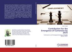 Capa do livro de Contribution for the Emergence of Cameroon by 2035