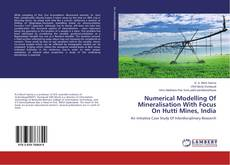 Обложка Numerical Modelling Of Mineralisation With Focus On Hutti Mines, India