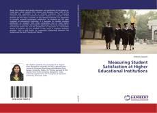 Portada del libro de Measuring Student Satisfaction at Higher Educational Institutions