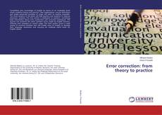 Bookcover of Error correction: from theory to practice