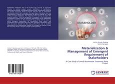 Portada del libro de Materialization & Management of Emergent Requirement of Stakeholders