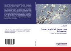 Portada del libro de Names and their Impact on Behaviour
