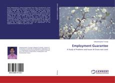 Bookcover of Employment Guarantee