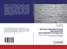 Анализ керамических материалов республики Татарстан的封面