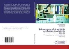 Capa do livro de Enhancement of Artemisinin production in Artemisia annua