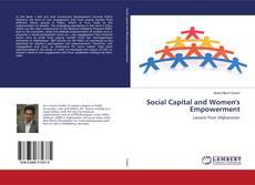 Portada del libro de Social Capital and Women's Empowerment