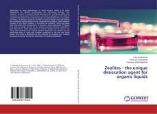 Bookcover of Zeolites - the unique desiccation agent for organic liquids