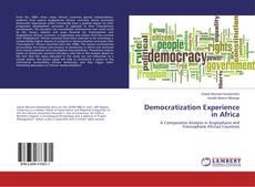 Buchcover von Democratization Experience in Africa