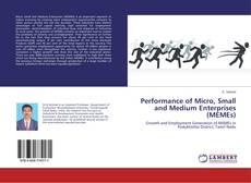 Обложка Performance of Micro, Small and Medium Enterprises (MEMEs)