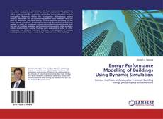 Buchcover von Energy Performance Modelling of Buildings Using Dynamic Simulation