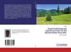 Bookcover of Geomorphologically Significant Sites of the Novohradské hory Mts.