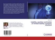 Portada del libro de Liability, position and duties of limited liability company directors