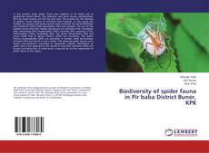 Couverture de Biodiversity of spider fauna in Pir baba District Buner, KPK
