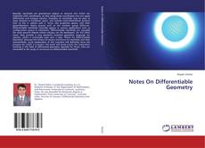 Bookcover of Notes On Differentiable Geometry