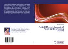 Finite Difference Analysis of Chemical Engineering Systems kitap kapağı