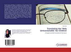Buchcover von Translating the 'Holy Untranslatable' for Children