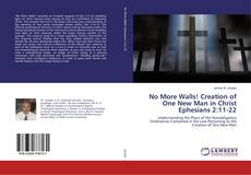 Bookcover of No More Walls! Creation of One New Man in Christ Ephesians 2:11-22