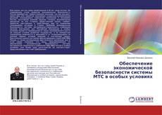 Bookcover of Обеспечение экономической безопасности системы МТС в особых условиях