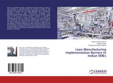 Capa do livro de Lean Manufacturing Implementation Barriers In Indian SMEs