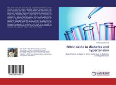 Buchcover von Nitric oxide in diabetes and hypertension