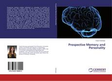 Bookcover of Prospective Memory and Personality