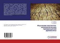 Portada del libro de Изучение кислотно-каталитических превращений древесины