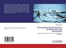 Borítókép a  Formulation And Evaluation of Metformin and Glimepiride - hoz