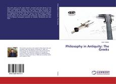 Couverture de Philosophy in Antiquity: The Greeks