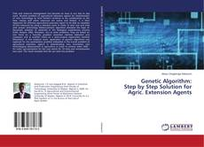 Capa do livro de Genetic Algorithm: Step by Step Solution for Agric. Extension Agents