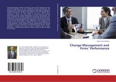 Copertina di Change Management and Firms' Performance