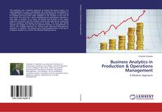 Capa do livro de Business Analytics in Production & Operations Management