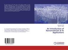 An Introduction of Nanomaterials & Its Applications的封面