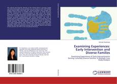 Buchcover von Examining Experiences: Early Intervention and Diverse Families