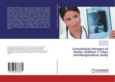 Buchcover von Craniofacial changes of Suttur children 7-10yrs semilongitudinal study