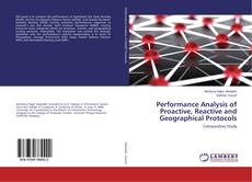 Capa do livro de Performance Analysis of Proactive, Reactive and Geographical Protocols