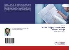 Portada del libro de Water Supply Scheme for Rohini Village