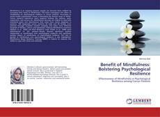 Bookcover of Benefit of Mindfulness: Bolstering Psychological Resilience