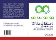 Bookcover of Новые трансформации аналогов оксазоло[3,2-а] пиридиния