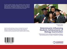 Capa do livro de Determinants Influencing Students Achievements of Biology Examination