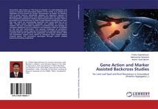 Portada del libro de Gene Action and Marker Assisted Backcross Studies