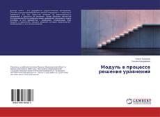 Buchcover von Модуль в процессе решения уравнений