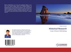 Copertina di Historical Research