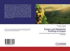 Bookcover of Protein and Metabolite Profiling of Grapes