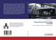 Bookcover of International Technology Transfer