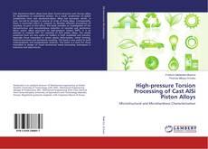 Обложка High-pressure Torsion Processing of Cast AlSi Piston Alloys