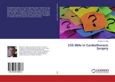 Capa do livro de 250 SBAs in Cardiothoracic Surgery