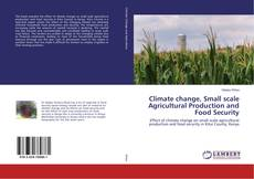 Climate change, Small scale Agricultural Production and Food Security的封面