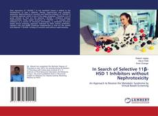 Buchcover von In Search of Selective 11β-HSD 1 Inhibitors without Nephrotoxicity
