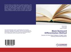 Bookcover of Block Backward Differentiation Method