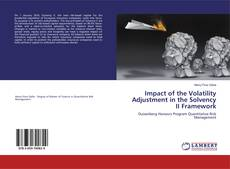 Bookcover of Impact of the Volatility Adjustment in the Solvency II Framework